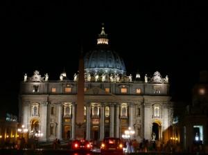 San Pietro… notturno
