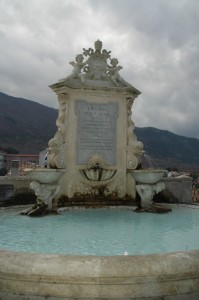 Fontana dedicata a Papa Leone XIII