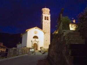 Chiesa di San Biagio di notte