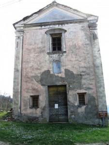 Pezzolo Valle Uzzone - La cappella campestre di San Martino
