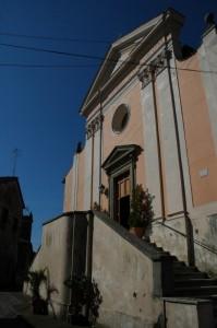 La parrocchiale di Cesi