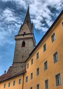 La chiesa delle Orsoline a Brunico
