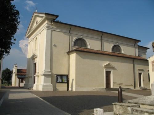 Povegliano - Chiesa parrocchiale di Santandrà