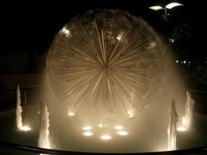 Nuova fontana sul lungomare