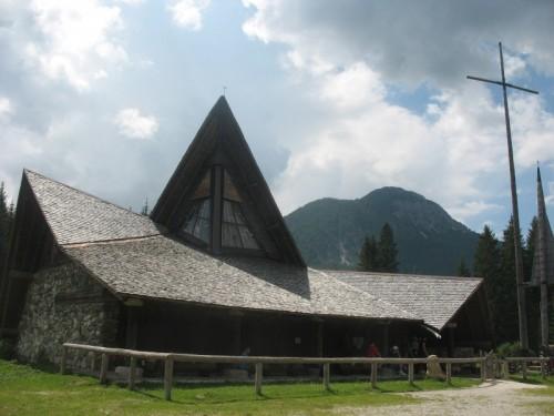 San Pietro di Cadore - Chiesa della Madonna delle nevi in Val Visdende