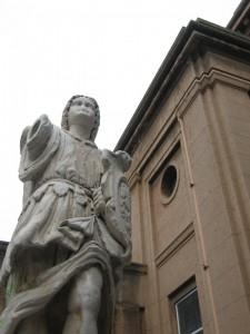Chiesa di San Giorgio al Corso, l'Angelo Tutelare