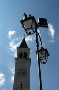 Cesuna - Scorcio del campanile