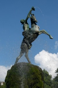 Fontana in Piazza Carli