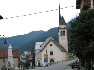 Chiesa di Frassenè Agordino