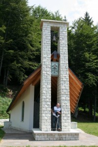 Chiesetta degli alpini sul Monte Lefre