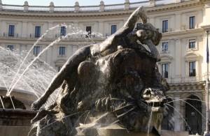 Piazza della Repubblica - Fontana delle Naiadi