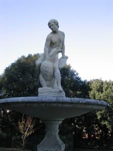 Palazzo Pitti - Fontana del Ganimede