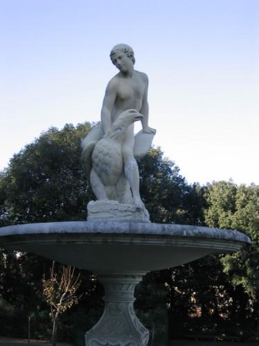 Firenze - Palazzo Pitti - Fontana del Ganimede