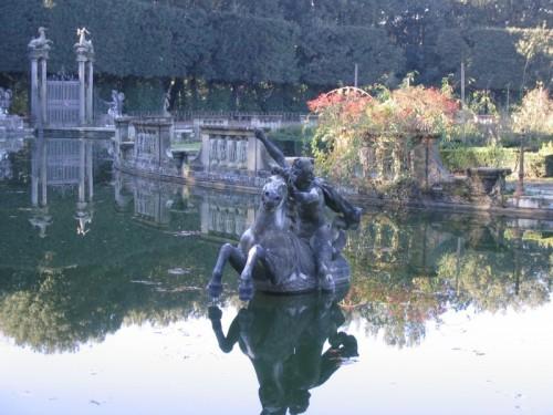 Firenze - Palazzo Pitti - Particolare di fontana