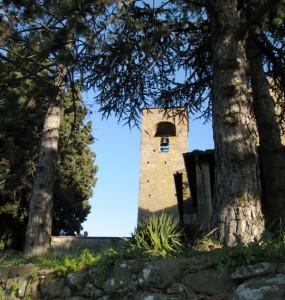 Pieve di San Leonardo ad Artimino, il campanile