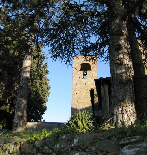 ''Pieve di San Leonardo ad Artimino, il campanile'' - Carmignano