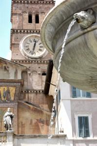 Fontana a Trastevere