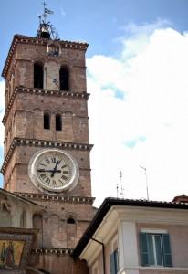 Campanile Santa Maria in Trastevere