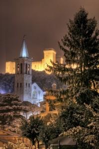 Duomo, Rocca e neve