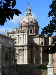 Chiesa dei Santi Luca e Martina ai Fori Imperiali