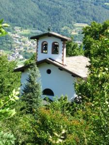 La chiesetta nel verde…