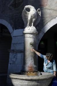 Fontana in Piazza del Duomo a Trento