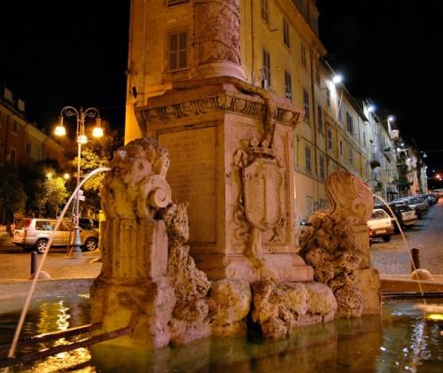 Genzano di Roma - Fontana Piazza San Sebastiano - Genzano di Roma