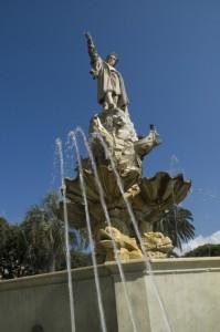 Fontana dedicata Cristoforo Colombo