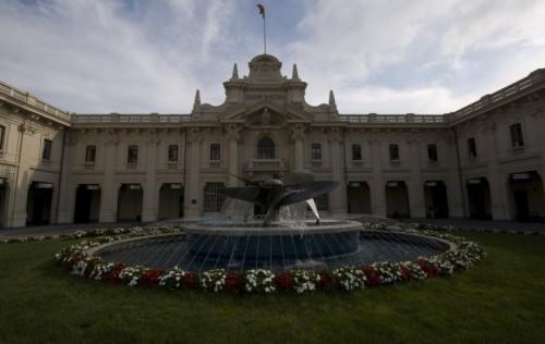 Genova - La fontana della stazione marittima