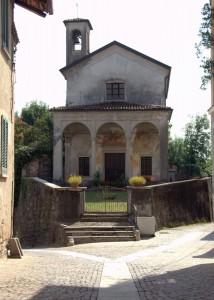 La chiesetta in Vergano