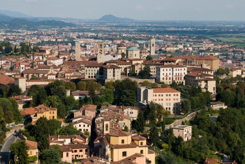 ''Quante chiese riuscite a contare?'' - Bergamo