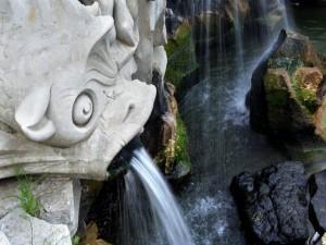 reggia di caserta, fontana del tritone