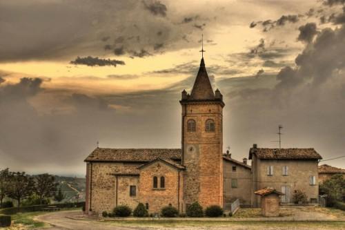 la foto della Chiesa di Villabianca scattata da Guido Piano