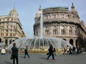 Fontana di Piazza De Ferrari