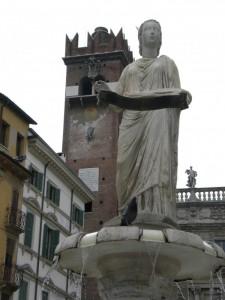 Fontana: Madonna di Verona