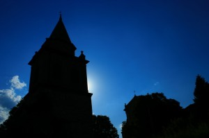 Controluce Chiesa di Campiglio - Vignola (MO)