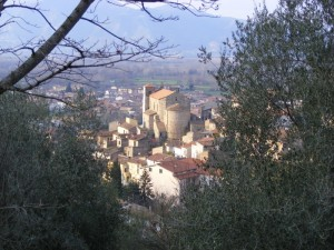Chiesa San Bartolomeo Apostolo con panorama
