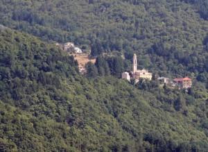 Temossi, chiesa dell'entroterra Ligure