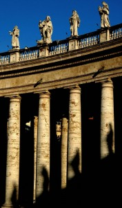 ombre sul colonnato