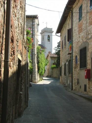Calenzano - Campanile da via del Castello