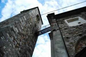 Passaggio per il campanile