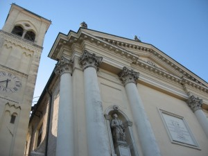 Prospettiva della Chiesa di San Biagio