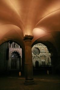 bergamo finestre su S.Maria Maggiore e Cappella Colleoni