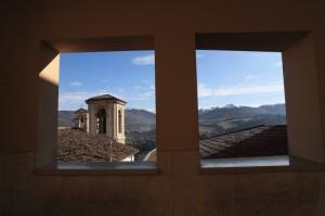 finestra su Cascia