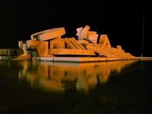Fontana di Cascella di notte