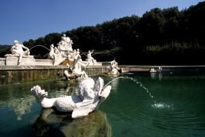 Caserta-La Reggia, particolare di una fontana