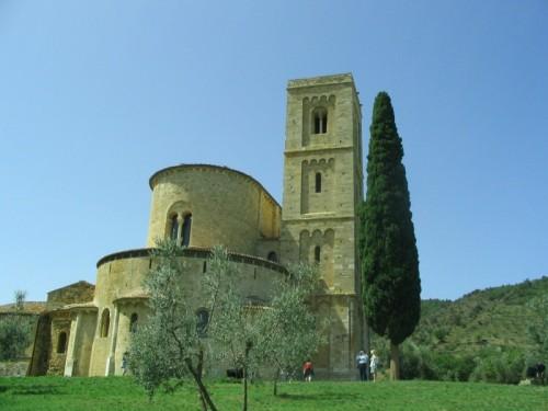 Montalcino - ABAZIA DI SANT'ANTIMO - MONTALCINO (SI)