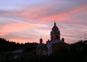 delicato tramonto