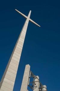 Croce della nuova chiesa di S. Pio
