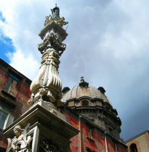 Le nubi si diradano sulla cupola del Duomo